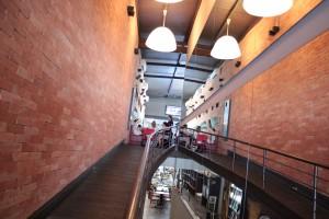 Entrada do Restaurante Oscar Café.